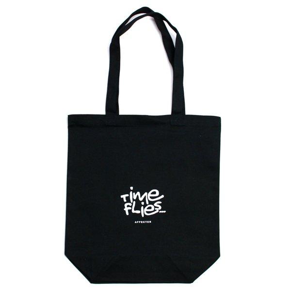 画像1: SHOPING TOTE BAG (Black2) (1)