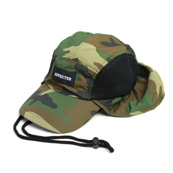 画像1: ANTI BURN CAP (CAMO) (1)