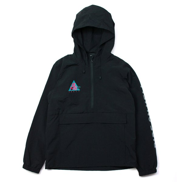 画像1: RIDE ON HELL ANORAK (Black) (1)